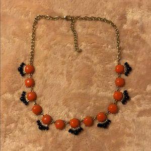 Orange and Blue necklace
